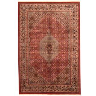 Herat Oriental Indo Hand-knotted Bidjar Wool Rug (6'7 x 9'10)