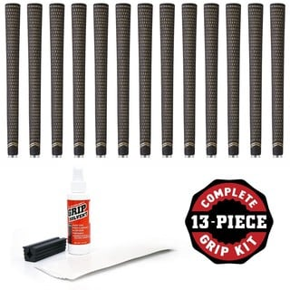 TaylorMade Crossline Bubble - 13 piece Golf Grip Kit (with tape, solvent, vise clamp)