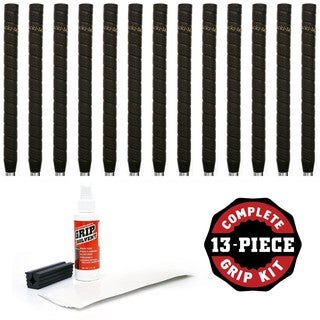 Tacki-Mac Unified Wrap Non Taper 13-piece Golf Grip Kit (with tape, solvent, vise clamp)