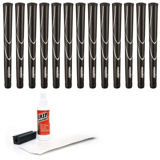 JumboMax Tour Series - 13 pc Golf Grip Kit (with tape, solvent, vise clamp)