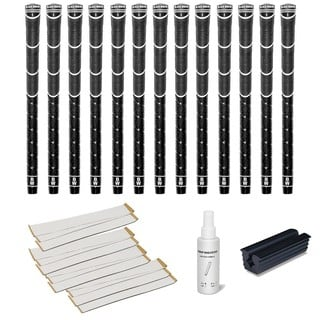 Black Widow Hybrid - 13 pc Golf Grip Kit (with tape, solvent, vise clamp)