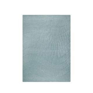 M.A.Trading Indian Hand-tufted Terraza Aqua Rug (8'3 x 11'6)
