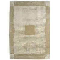M.A.Trading Indian Hand-tufted Marrakesh Beige Rug (8'3 x 11'6)