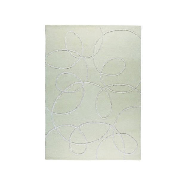 M.A.Trading Indian Hand-tufted Madrid White Rug (8'3 x 11'6)
