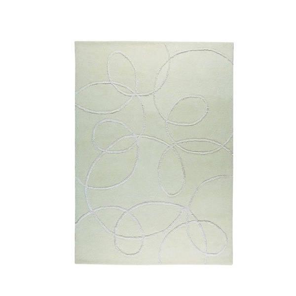 Handmade M.A.Trading Indian Madrid White Rug (8'3 x 11'6) (India)