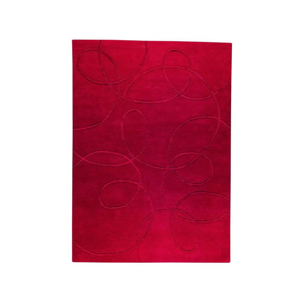 M.A.Trading Indian Hand-tufted Madrid Red Rug (8'3 x 11'6)