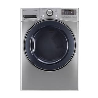 LG DLGX3571V 7.4-cubic Feet Ultra Large Capacity SteamDryer with NFC Tag On in Graphite Steel|https://ak1.ostkcdn.com/images/products/11541974/P18487845.jpg?impolicy=medium
