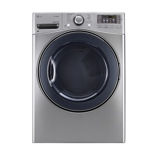 LG DLGX3571V 7.4-cubic Feet Ultra Large Capacity SteamDryer with NFC Tag On in Graphite Steel
