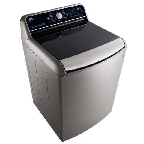 LG WT7700HVA 5.7 Cu.Ft. Mega Capacity Top Load Washer With TurboWash Technology in Graphite Steel