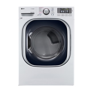 LG DLEX4270W 7.4-cubic Feet Ultra Large Capacity SteamDryer with NFC Tag On in White