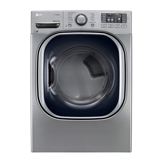LG DLEX4270V 7.4-cubic Feet Ultra Large Capacity SteamDryer with NFC Tag On in Graphite Steel