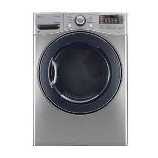 LG DLEX3570V 7.4-cubic Feet Ultra Large Capacity SteamDryer with NFC Tag On in Graphite Steel