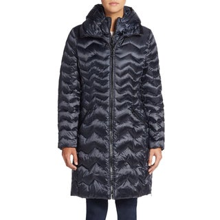 Dawn Levy Karen Women's Blue Puffer Coat (Medium)