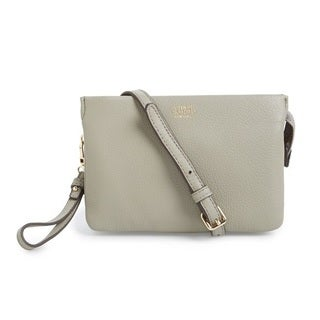 Vince Camuto Cami Ash Gray Crossbody Handbag
