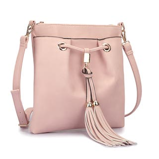 Dasein Crossbody Handbag With Fringe Details|https://ak1.ostkcdn.com/images/products/11542067/P18487924.jpg?impolicy=medium