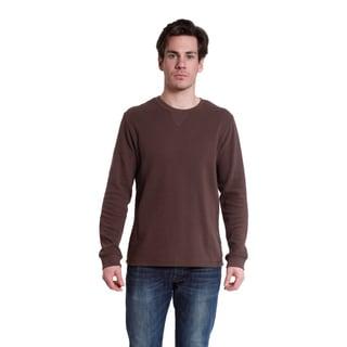 Stanley Men's Long Sleeve Cotton Blend Crew Neck