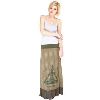 Bohemian Meditation Maxi Skirt (Nepal)