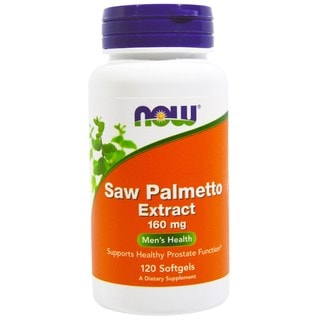 Now Foods Saw Palmetto Extract 160 mg (120 Softgels)