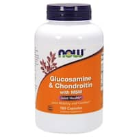 Now Foods Glucosamine and Chondroitin with MSM (180 Capsules)