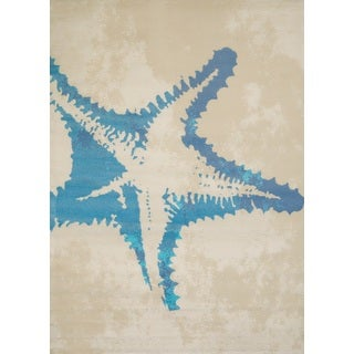 Panama Jack Island Breeze Sea Life Area Rug (5'3 x 7'2)