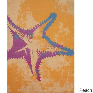 Panama Jack Island Breeze Sea Life Area Rug (5'3 x 7'2)