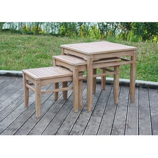 Cambridge Casual Astoria 3 piece Nesting Table