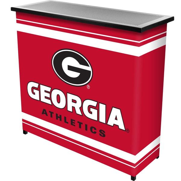 University of Georgia Portable Bar with Case