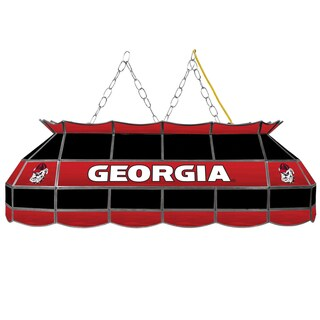 University of Georgia Handmade Tiffany Style Lamp - 40 Inch