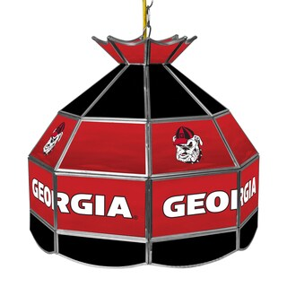 University of Georgia 16 Inch Handmade Tiffany Style Lamp