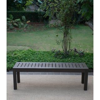 The Gray Barn Bluebird Outdoor Backless Bench