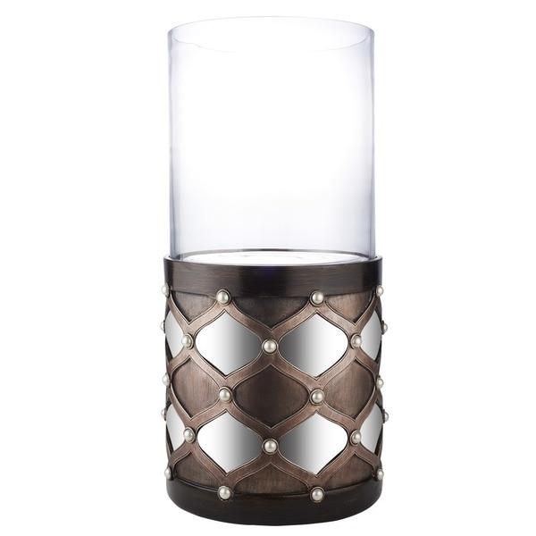Fantastic 22H Arabesque Mirror Floor Candleholder Best Image Libraries Thycampuscom