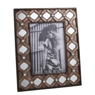 "9.6""W Arabesque Mirror Picture Frame"