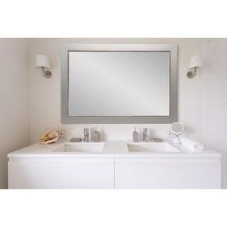 BrandtWorks Silver Lined Wall Mirror 26.5 x 31.5 - Nickel