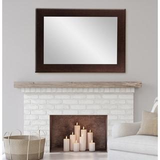 BrandtWorks Walnut Wall Mirror 32 X 38 - Brown