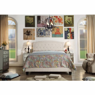 Moser Bay Twin Size Tufted Upholstered Bed Set