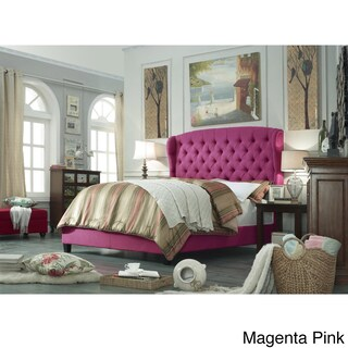 Moser Bay Queen Size Tufted Upholstered Bed Set