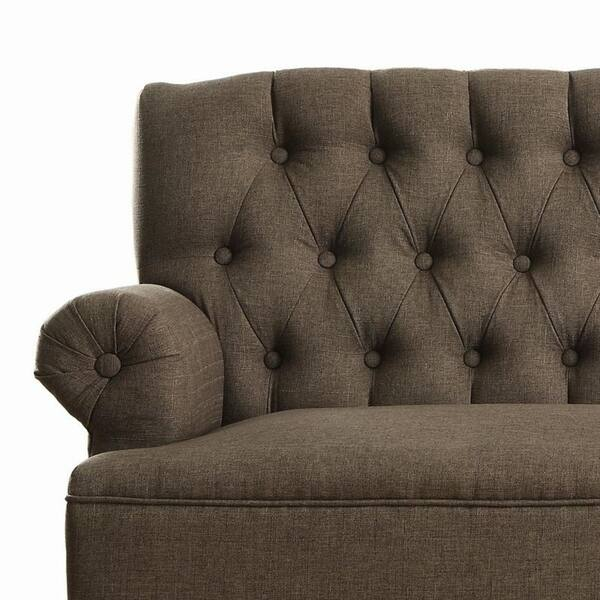 Super Shop Upholstered Settee Loveseat With Tufting Back On Sale Machost Co Dining Chair Design Ideas Machostcouk