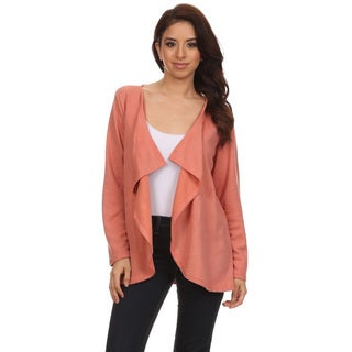 JED Women's Waterfall Long Sleeve Cardigan