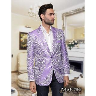 Men's manzini Lavender sport coat (Option: S)