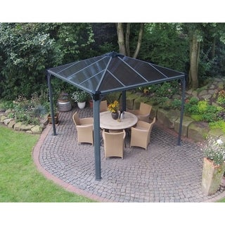 Palram Palermo 3000 10 ft. x 10 ft. Hard Top Gazebo