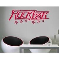 Rock Bar Wall Hanger Decal Vinyl Art Home Decor