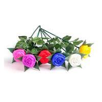 LED Light Up Silk Roses