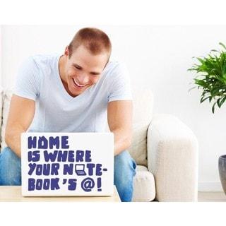 Home Laptop Decal Vinyl Wall Art Home Decor