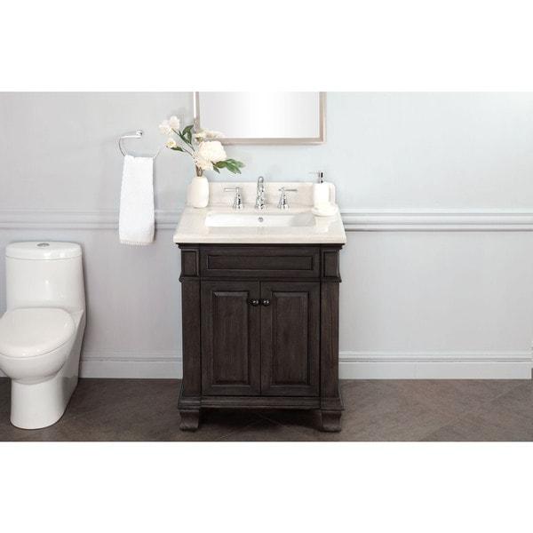 28 Inch Bathroom Vanity With Sink: Shop 28 Inch Single Sink Vanity With Backsplash
