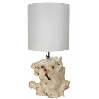 Coyi 8-inch Natural Marble Table Lamp
