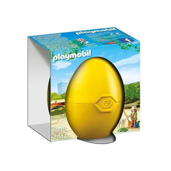 Playmobil Zookeeper With Alpaca Building Kit
