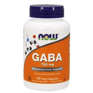 Now Foods 750 mg GABA (100 veggie caps)