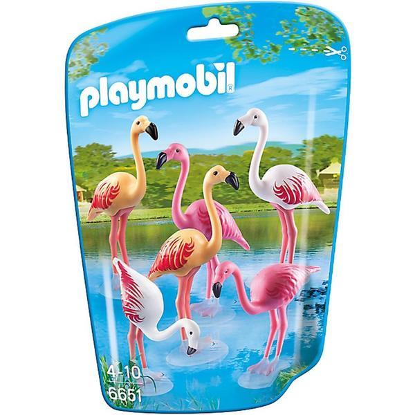 Playmobil Flock of Flamingos Building Kit