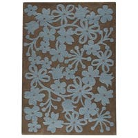 M.A. Trading Hand-tufted Indo Newport Grey Rug (8'3 x 11'6)