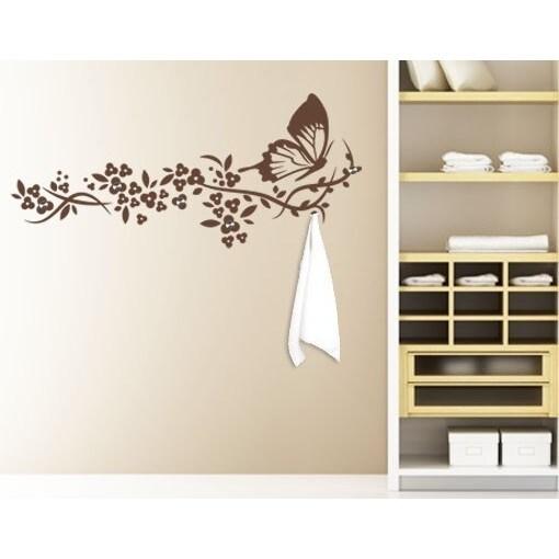 Butterfly Wall Hanger Decal Vinyl Art Home Decor